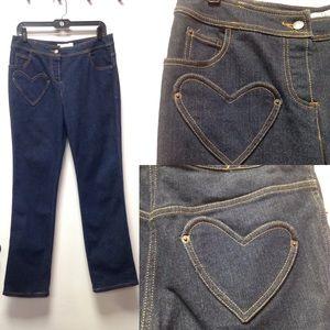 Christian Dior Heart-Shaped Pockets Jeans